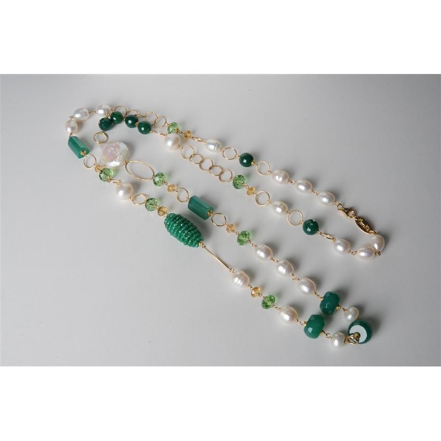 Molto agata verde smeraldo - Marinella Alescio SK07
