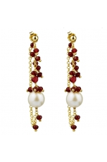 Or agata ruby, perla barocca