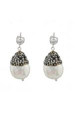 Or perla biwa, zirconi