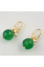 Or Agata verde, perle di fiume