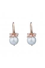 Or perla barocca, corallo bamboo rosa