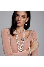 Chanel perle coltivate acqua dolce, pz unico