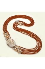 Chanel multifilo agata brown