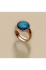 Anello Quarzo Blue Light