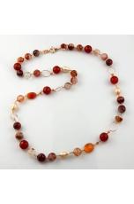 Chanel quarzo cipria, perle di fiume, corniola