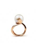 Anello perla coltivata