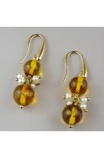 Or ambra messicana, perle di fiume