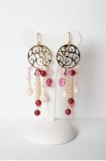 orecchini agata ruby
