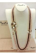 Chanell Granato e perle coltivate