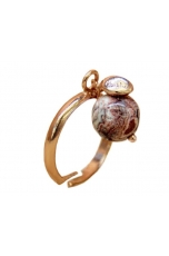 Anello diaspro brown