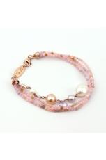 Br acquamarina multicolor,perle coltivate, ametista