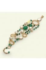 Br agata smeraldo, perle di fiume