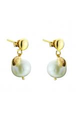 Orecchini melina perla coltivata  Bianca 11 mm