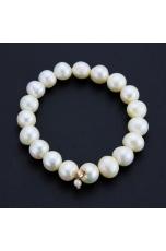 Bracciale elastico,  Perle coltivate 11 mm