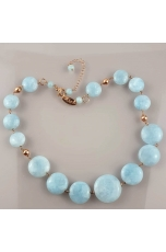 Collier acquamarina milk