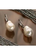 Orecchini Perle coltivate barocche