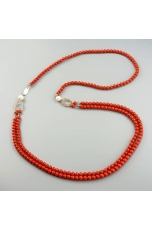 Chanel corallo bamboo  red 5 mm