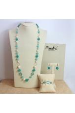 Parure Giada tiffany E perle coltivate