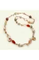 Chanel quarzi multicolor e perle coltivate