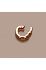 Chiusura ovale pp A scatto rosè