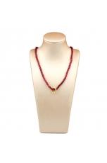 Collier Agata ruby