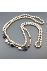 Charleston perle coltivate Ametista idrotermale