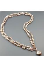 Charleston perle coltivate  multicolor