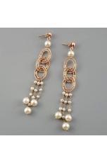 Orecchini filigrana  e perle coltivate