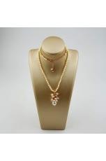 Collier perle coltivate multicolor