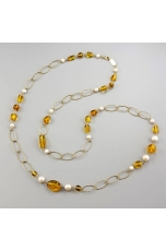 Chanel ambra messicana,  perle coltivate