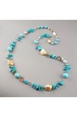 Chanel turchese arizona,  perle coltivate