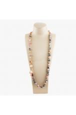 Collana scomponibile  Diaspro e opale rosa