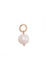 Ciondolo-orecchino  perla coltivata 11 mm