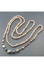 Chaleston perle di fiume multicolor