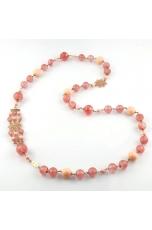 Chanel quarzo cherry, bamboo rosa